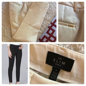 WHBM Slim Ankle Pants Size 2